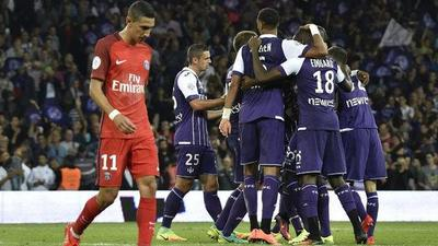 París SG sufre su segunda derrota de la temporada