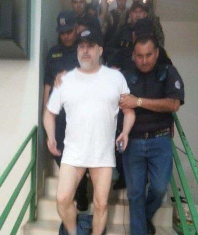 Paraguayo Cubas fue preso tras protagonizar escándalo