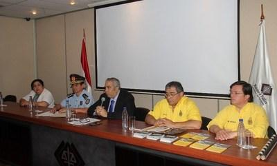 Anuncian tareas de control y prevención en el marco del Transchaco Rally