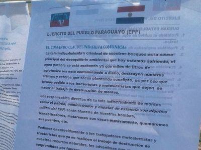 Fernando de la Mora: Buscan a quien dejó panfleto con amenazas