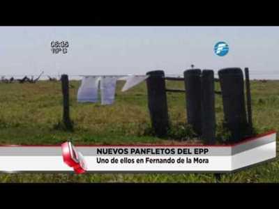 Amenazan a la familia Riquelme con supuesto panfleto del EPP