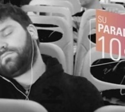 """Lanzan app para """"dormir en el bus"""""""