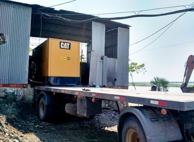 Cambian generadores en distritos del Alto Chaco
