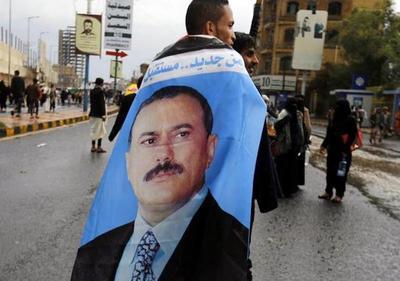 El expresidente yemení Abdalá Saleh clama venganza tras la masacre de Saná
