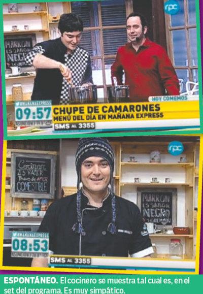 Bruno brusquetti for Cocinando para los amigos