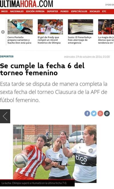 La APF en los medios (19-10-16)
