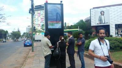 Inauguran primera parada inclusiva