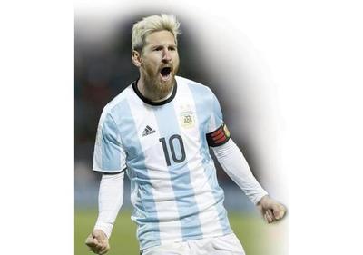 Argentina llama a su    Messías
