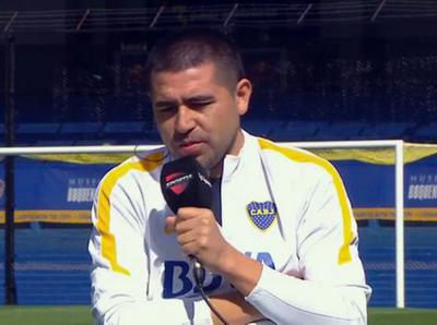 Riquelme admiró a Óscar Romero