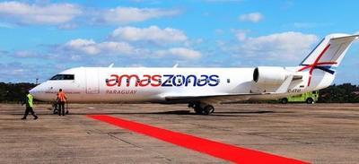 Amaszonas Paraguay lidera ranking de vuelos chárter