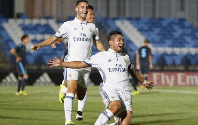 El Castilla ganó con un gol de Sergio Díaz