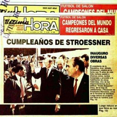 La fecha feliz, el ritual que exaltaba la figura de Stroessner