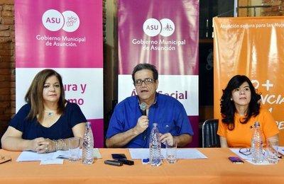 """Campaña """"Asunción segura para las mujeres"""""""