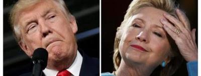 Clinton y Trump peinan estados clave en busca de votos