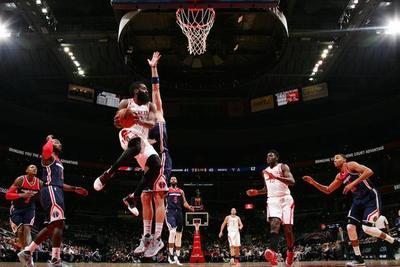 Harden logró 32 puntos en triunfo de Rockets ante Wizards