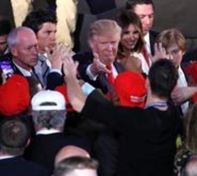 Trump cambia el tono con su victoria y lanza un mensaje de unidad