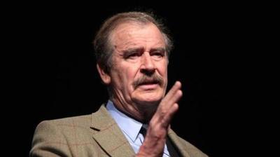 """""""Nosotros no vamos a pagar el maldito muro"""", dice Vicente Fox, tras la victoria de Trump"""