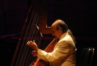 Falleció el maestro del arpa Dionisio Arzamendia