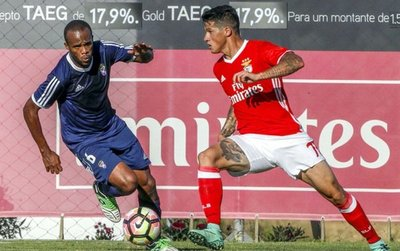Alan en el Benfica y Viera en Corinthians