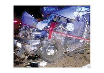Tres muertos en accidente de tránsito en la supercarretera