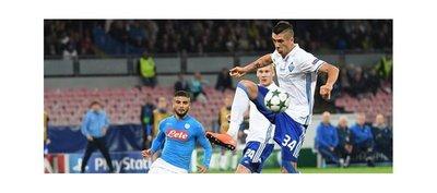 Napoli empata y se jugará el pase contra el Benfica en Da Luz