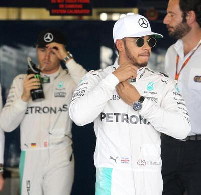 Hamilton 2-0 Rosberg en primeros ensayos en Abu Dhabi