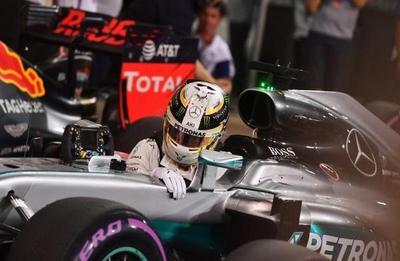 Fórmula 1: Hamilton logra la pole en última carrera del año