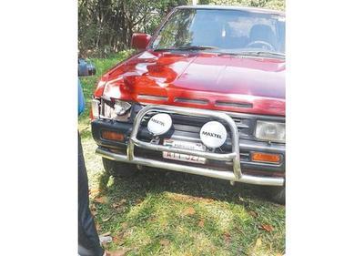 Un joven atropella y mata con su camioneta a un peatón en Lambaré