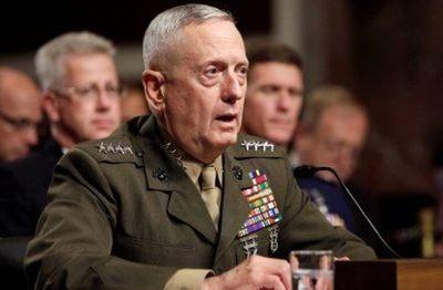 """Trump nombra a """"Mad Dog"""" Mattis como secretario de Defensa"""