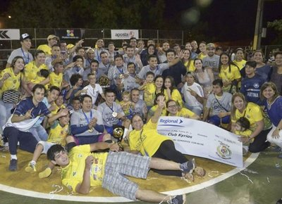 Kyrios Sport es bicampeón de la Federación Franqueña