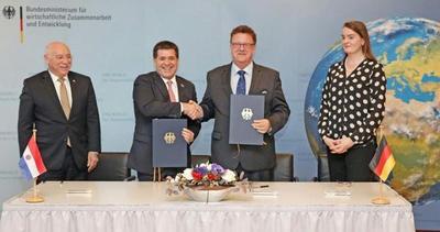 Aprendizaje dual, clave del convenio Paraguay-Alemania