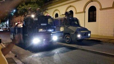 Represión protesta jave
