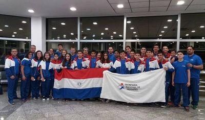 Escolares viajan este sábado a los Juegos Sudamericanos