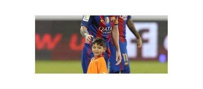 Sueño cumplido: Murtaza el niño afgano que conoció a Messi