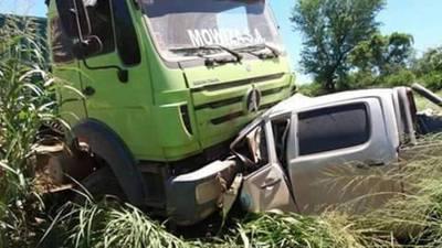 Camionero chocó contra rodado en el que viajaba su hijo, el menor murió