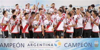 Campeón y a la Libertadores