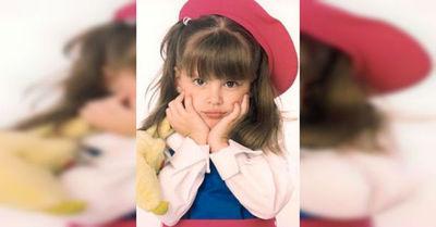 Así luce la pequeña Dulce María de Carita de Ángel a 16 años de su estreno