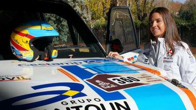 """""""Sé que puedo ganar a muchos hombres en el Dakar"""""""