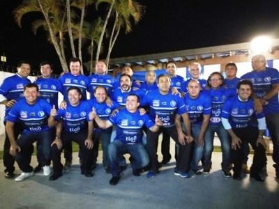 Los azules celebraron aniversario del título de 1991