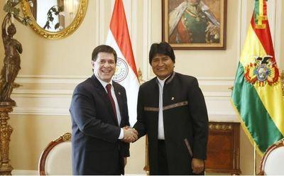 Cartes y Morales, en salida simbólica