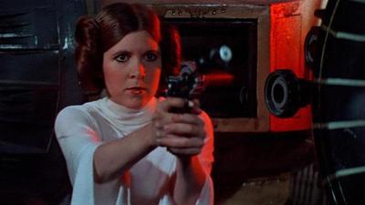 """Carrie, la princesa guerrera que ya """"es parte de la fuerza"""""""