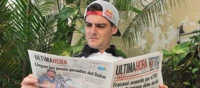 Ignacio Casale, cauto: No busco ganar la primera etapa en Paraguay