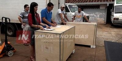 SÉPTIMA RECIBIÓ 7 REFRIGERADORES ESPECIALES PARA VACUNAS CON GENERADORES PROPIOS