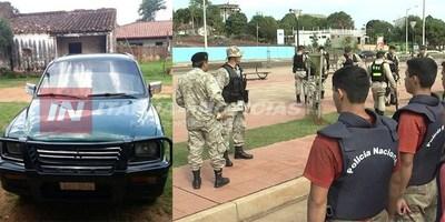 UN POLICÍA DESORIENTADO ABANDONÓ SU RODADO EN QUIINDY