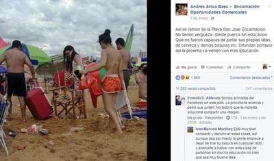 Encarnación: multa para los que arrojan desperdicios en las playas