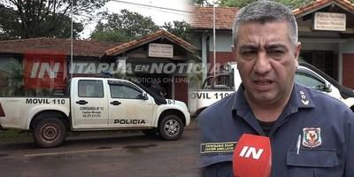 TRAS VARIOS HECHOS DELICTIVOS CAMBIAN JEFE DE COMISARÍA EN MIRANDA