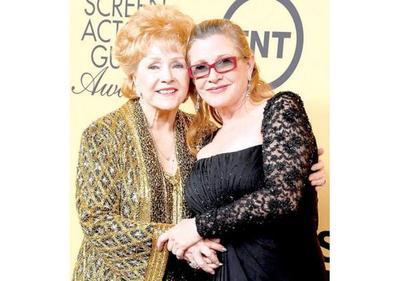 Debbie Reynolds y Carrie Fisher  serán sepultadas juntas