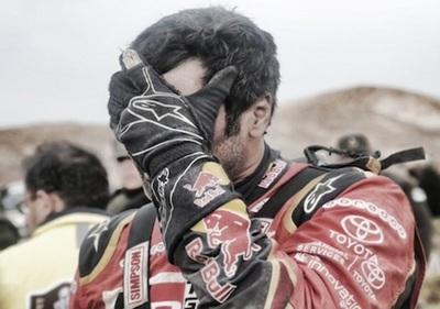 El príncipe Al-Attiyah abandona el Rally Dakar