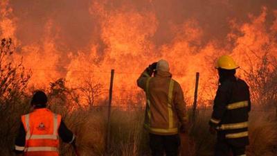 Más de un millón de ha incendiada en La Pampa