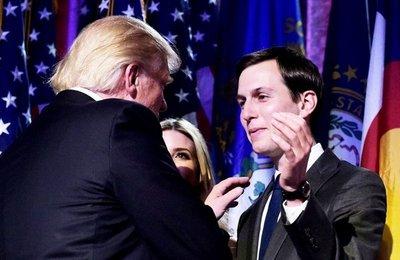 Trump nombra a yerno como consejero de la Casa Blanca